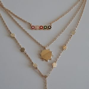 Evereve 14k gold plated necklace
